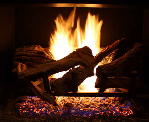 fireplace hallmark homes heating desk img - Taking the Confusion Out Of Heating Your Home