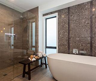 hallmark homes chc nevis bathroom main 1 - What are the characteristics of great bathroom design?