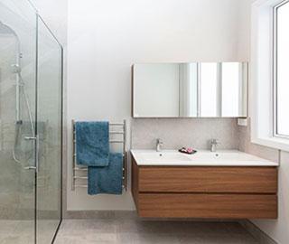hallmark homes chc nevis bathroom main 3 - What are the characteristics of great bathroom design?