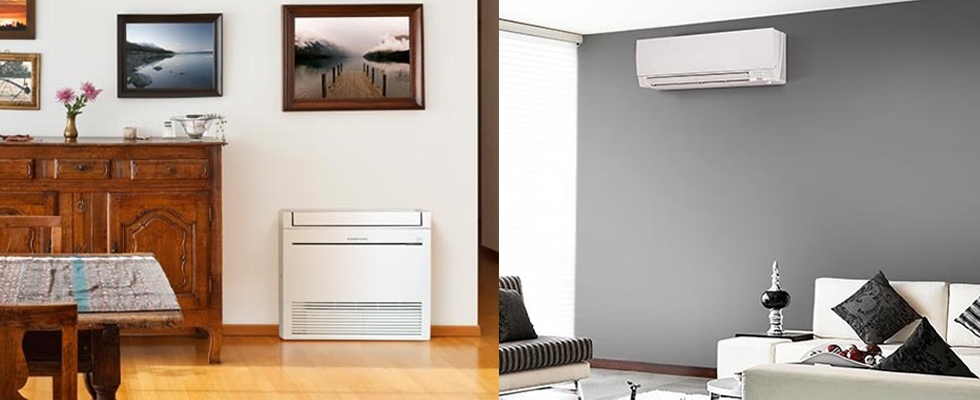 hallmark homes heating floor heatpump wall heatpump - Taking the Confusion Out Of Heating Your Home