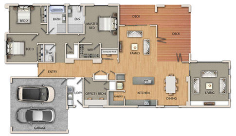 lochy plan img - How to successfully plan for your new home build