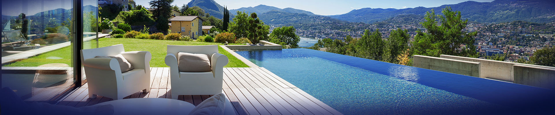 outdoor living with pool banner img - Creating an Outdoor Oasis, with the added luxury of your own private swimming pool