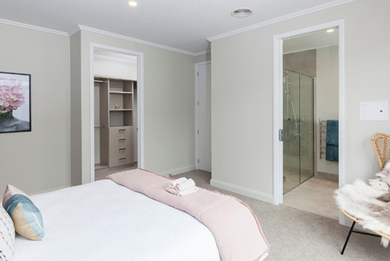 Hallmark Homes Christchurch The Lochy Master Bedroom BLOG MAIN - Design Tips for Creating the Perfect Master Bedroom