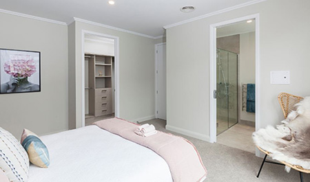 Hallmark Homes Christchurch The Lochy Master Bedroom BLOG - Design Tips for Creating the Perfect Master Bedroom