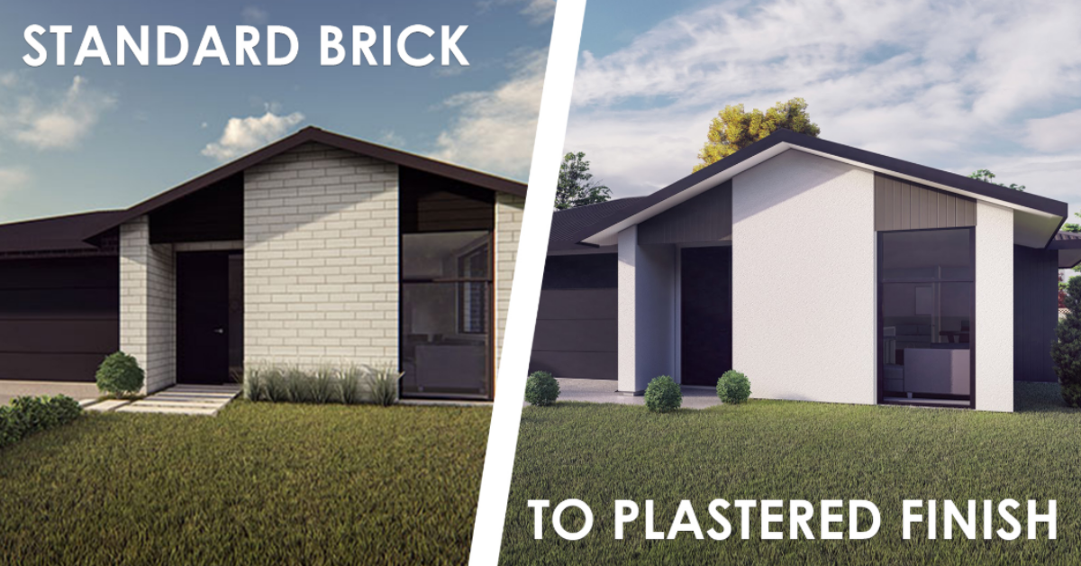 Headstart Maximise Street Appeal Plastered Finish - How to Maximise Your New Home's Street Appeal