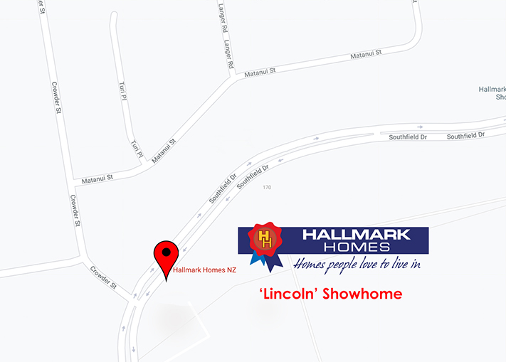 lincoln showhome map - Sandal Wood Promo
