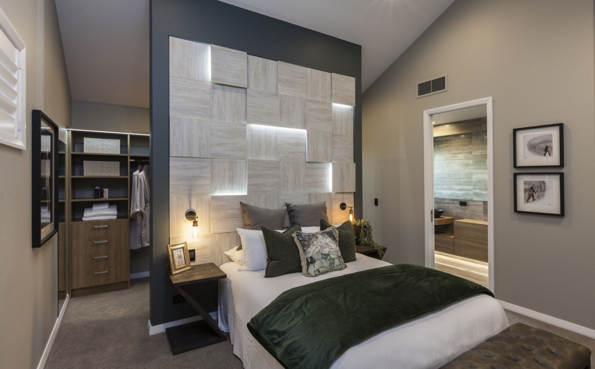 Hallmark Homes Lincoln bedroom - Architectural Features for Your New Home