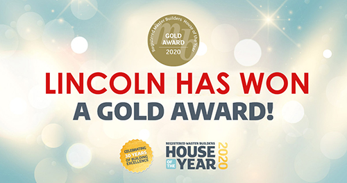 Gold social Lincoln - Show Homes