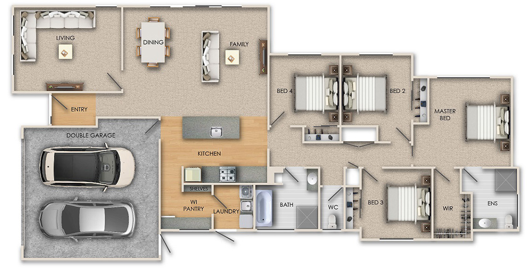 show homes floor plan - Show Homes